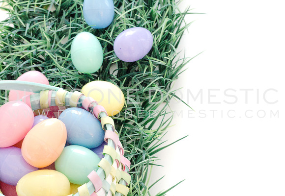 Stock Photography Easter Basket