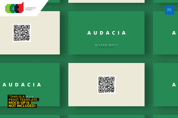 QR Minimal Business Card 39
