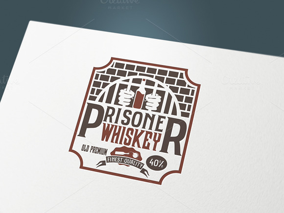 Label Whiskey Prisoner