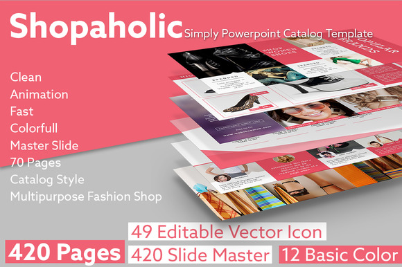 SHOPAHOLIC Simply Powerpoint Catalog