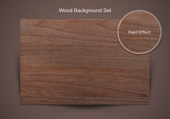 10 Hi-Res Melamine Wood Textures