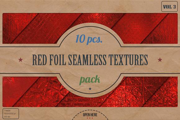 Red Foil HD Textures Pack V.3
