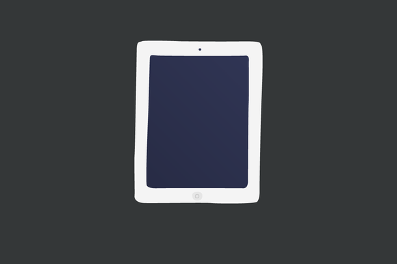 Ipad Vector Illustration