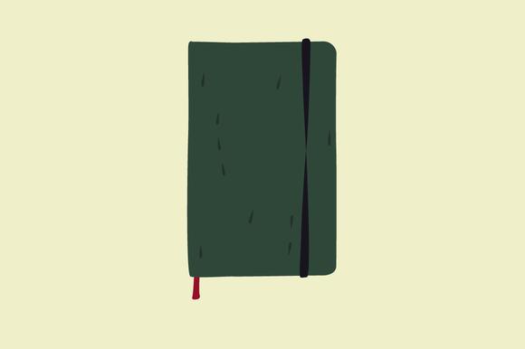 Moleskine Vector Illustration