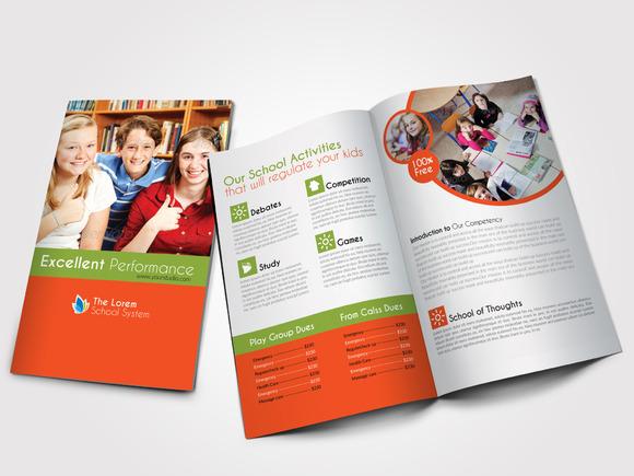 Education Bi Fold Business Brochure