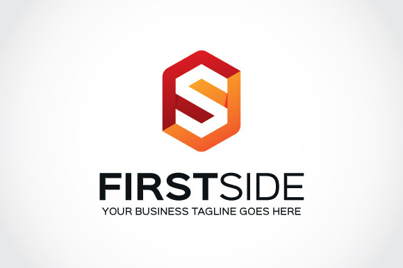 First Side Logo Template