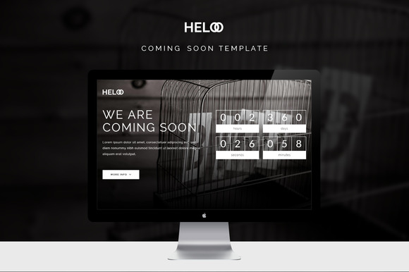 Heloo Coming Soon Template
