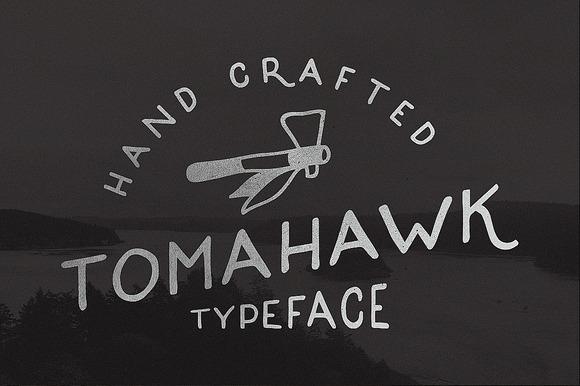 Tomahawk Vintage Font