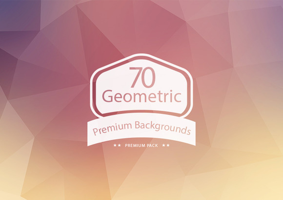 70 Geometric Backgrounds