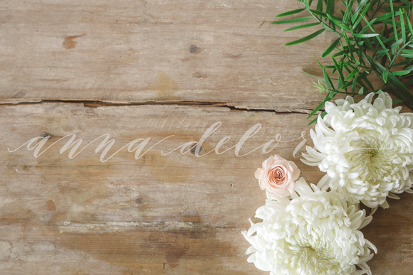 Styled Stock Photo Simple Flowers