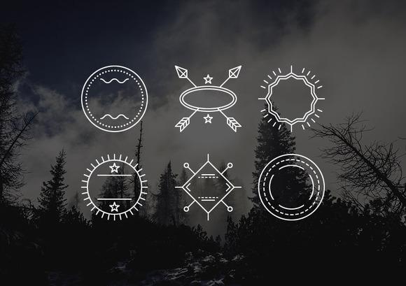 42 Vector Badges Logo Templates