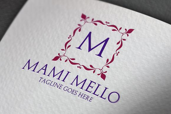 Mami Mello M Letter Logo