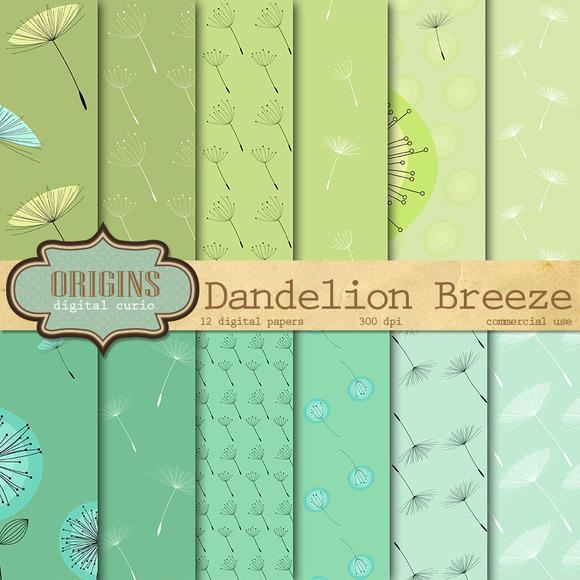 Dandelion Digital Paper