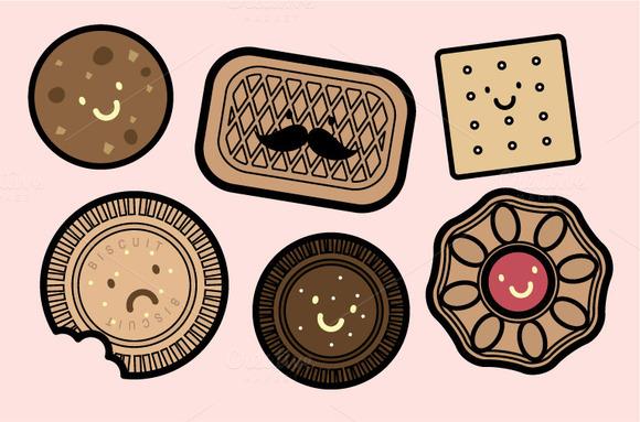 Biscuit People Vector