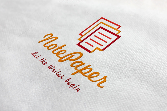 Note Paper Logo