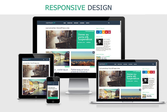 HarmonUX Responsive UX-focused