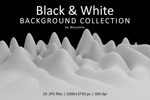 Black White Background Collection