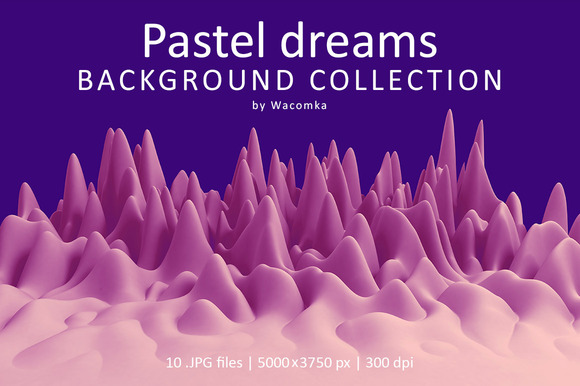 Pastel Dreams Background Collection