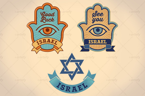 Israel Good Luck Symbols