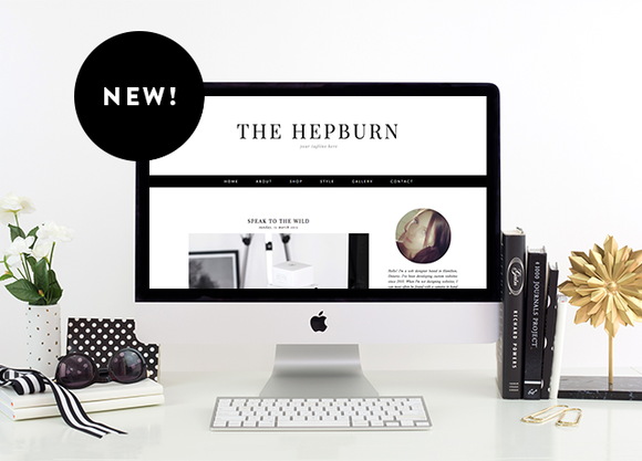 The Hepburn Blogger Template