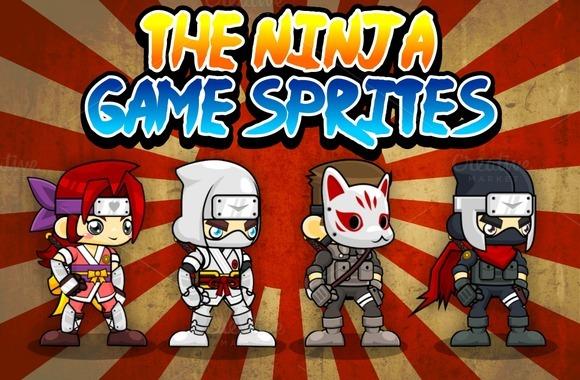 The Ninja Game Sprites