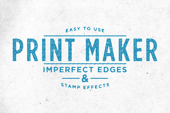Print Maker Stamp Effects