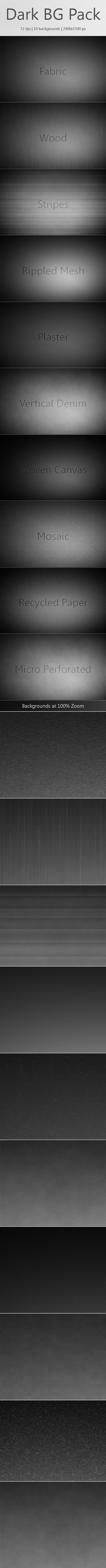 Dark Background Pack