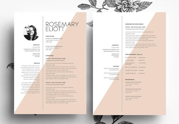 CV Cover Letter Business Card