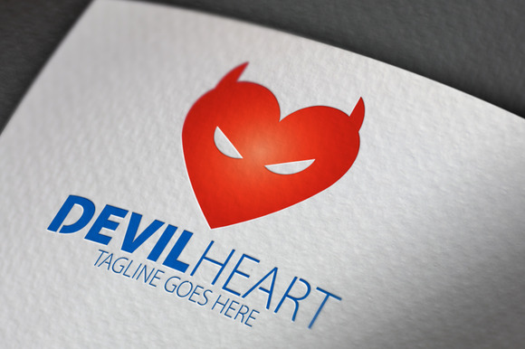 Devil Heart Logo