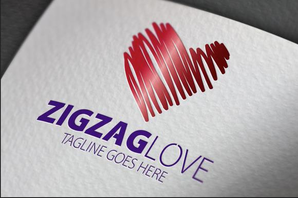 Zigzag Love Logo