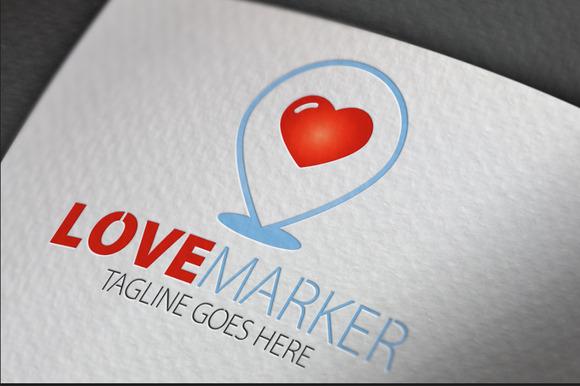 Love Marker Logo