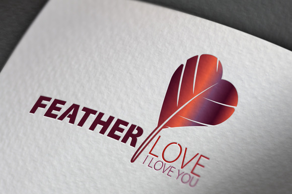 Feather Love Logo