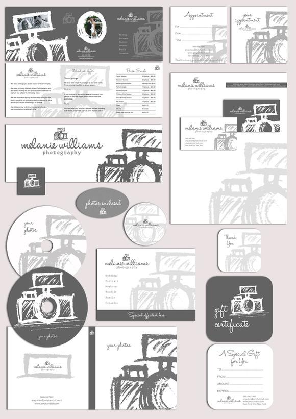 Photography Logo Marketing Set