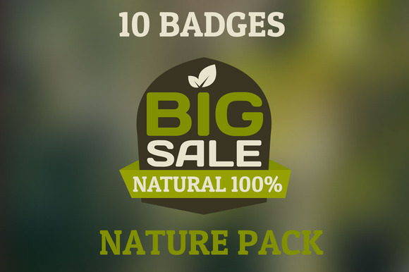 Bio Badges Pack 10 HQ Badges