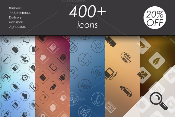 400 Vector Icons