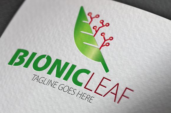Bionic Leaf Logo