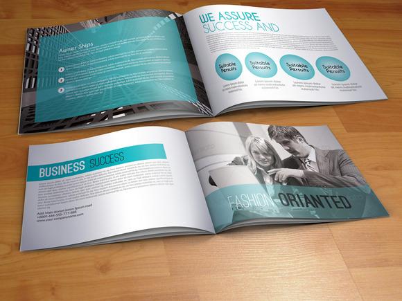Bi Fold Business Brochure