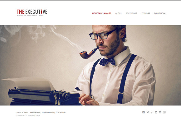 Executive WordPress Theme