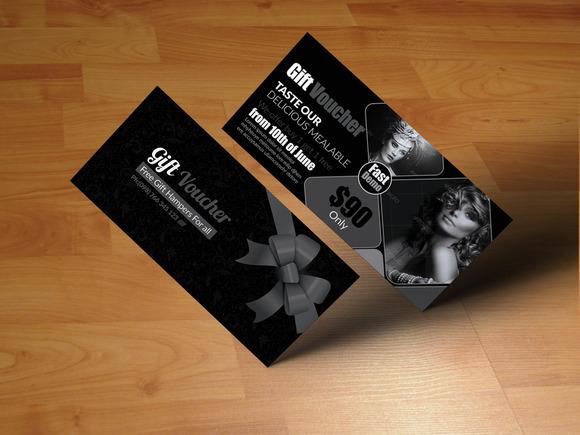 Stylish Gift Voucher Template