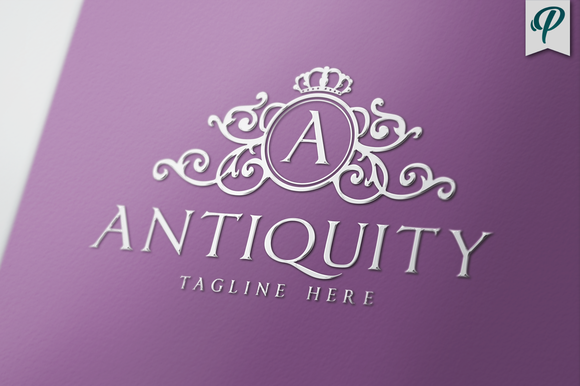 Antiquity Luxury Logo Template
