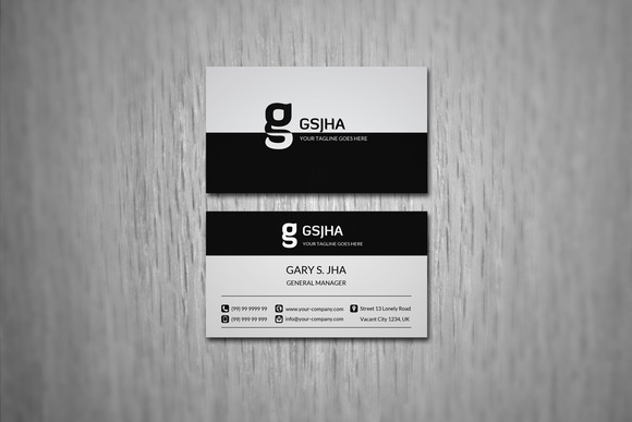 Big Corporate Business Card