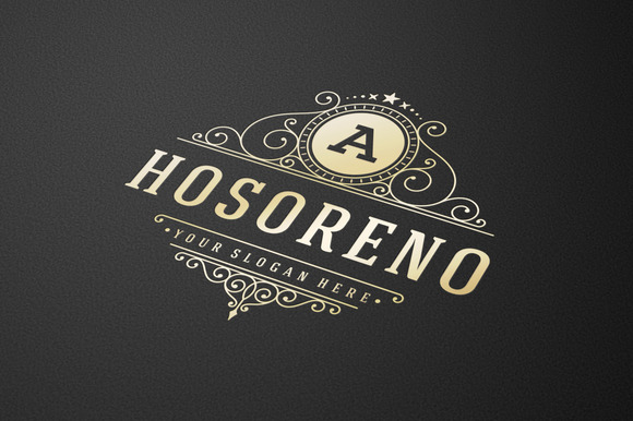 Luxury Vintage Logo Template