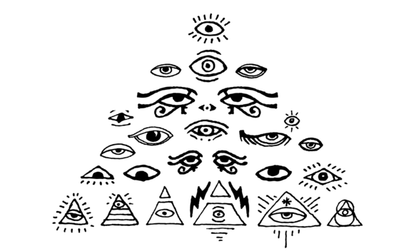 All Seeing Eyes Vector Pack