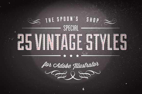 25 Vintage Graphic Styles