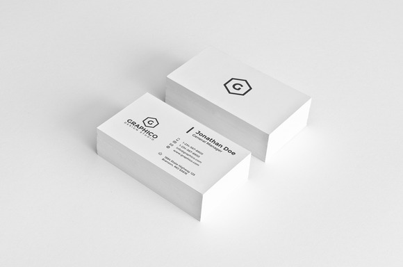 Simple Corporate Business Card 19