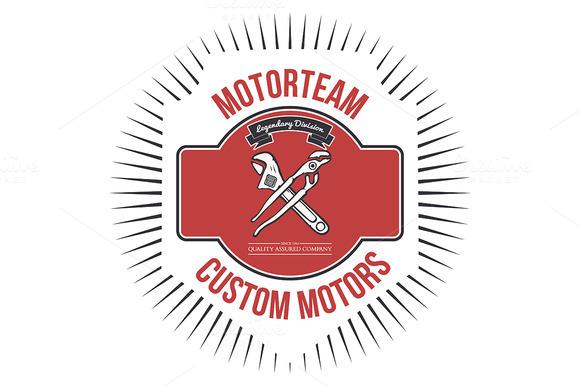 Motorteam Custom Motors T-shirt