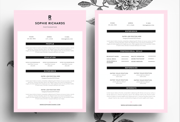 Creative CV Business Card Template