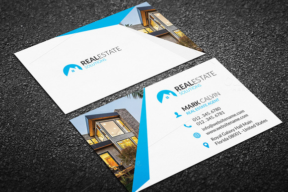 Real Estate Business Card 35