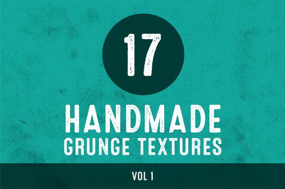 Handmade Grunge Textures Vol 1