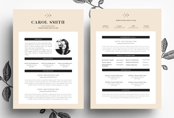 Resume And BusinessCard PSDtemplate